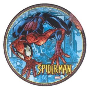 """Spiderman 8""""inch Melamine Child Size Plate🤩5/15🤩"""